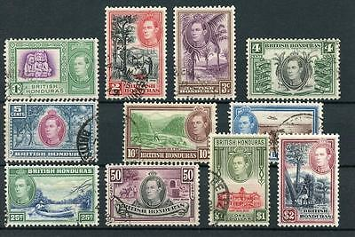 British Honduras 1938-47 short set to $2 SG150/60 FU