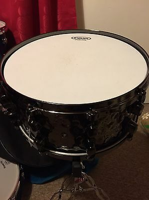 mapex black panther snare Hammered Brass 14x6 And Half