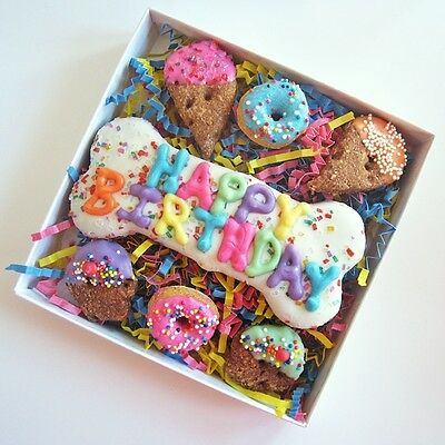 Happy Birthday Sprinkle Dog Treat Assortment - Free Shipping ASAP