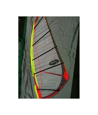 Hi-Fly - Synthesis 8.0m Brand New Windsurfing Sail