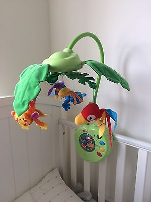 Fisher price rainforest friends cot mobile