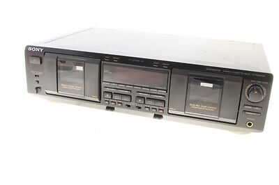 Stereo Cassette Deck Sony TC-WE835S Doppel Kassettendeck, Dolby S, Pitch Control