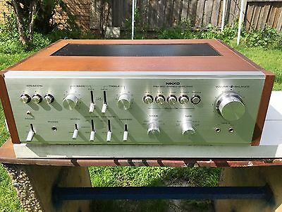 Nikko TRM-800 Integrated Stereo Amplifier (1975)