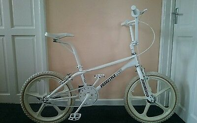 Ammaco Freestyle Pro Old School Bmx Bike ghost rider retro collectible bmx look!