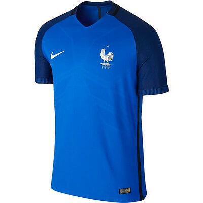 Brand New Official Nike France 2016/17 Home Shirt Mens Medium Large & XL