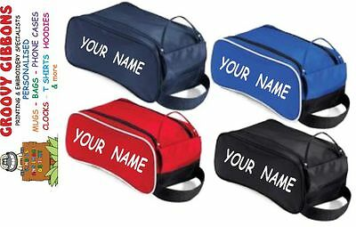 Personalised  Football,Rugby,Sports, Dance, Tog, School Gym Shoe boot bag Gift