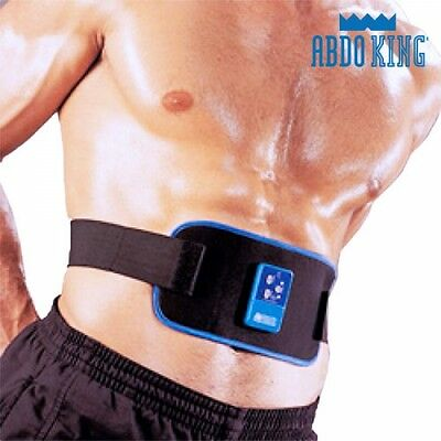 Abdo King Redux Electrical Stimulation Belt, ABS Home Muscle Fat Burner Workout