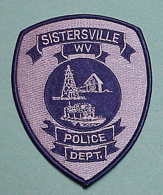 Sisterville  West Virginia  Wv   Police Patch   Free Shipping!!!