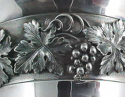 EARLY VICTORIAN LARGE 33 OZ. PRESENTATION GOBLET STERLING SILVER LONDON c.1840s