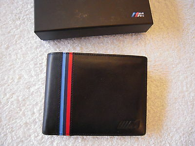 BMW M Power Mens Leather Wallet