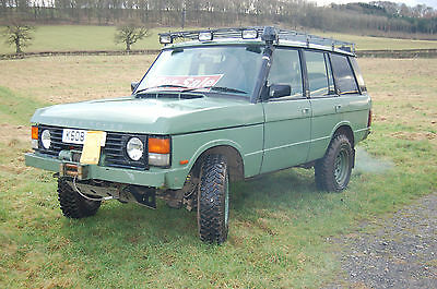 Range Rover Classic 200TDI Manual Off roader/Expedition Spec - MOT July 2017