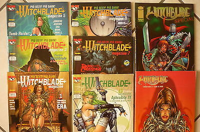 Witchblade Magazine Top Cow  N°1-3-5-6-7-8- Collection N°2- Special N°5 -lotto -