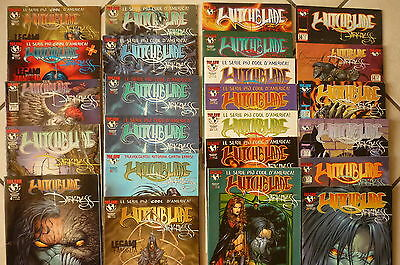 Witchblade lotto stock Top Cow Darkness N°4-6-7-9-10-11-12-14-17-18-19-21-23-+++