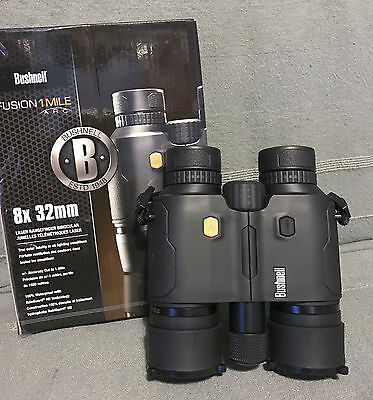 Bushnell Binoculars Fusion 1 Mile ARC 8 x 32mm Black (Model# 202308)