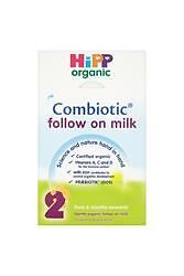 4 Packs of HiPP Organic Combiotic Follow on Milk From 6 Months Onwards (800g)
