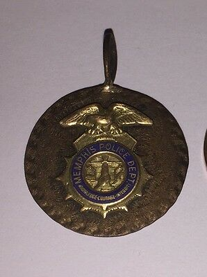 Elvis owned Mini Memphis police Badge Necklace