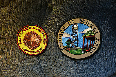 2 Cloth Patches