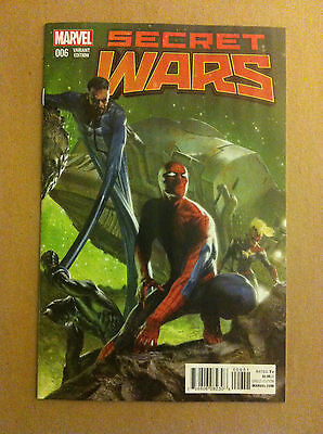 Secret Wars (2015) #6 Gabriele Dell'otto 1:25 Variant Cover Nm 1St Printing
