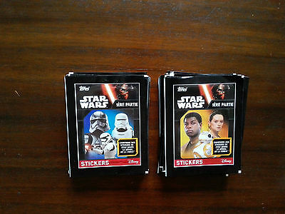 200  STICKERS STAR WARS 1ére partie topps ( neuf )