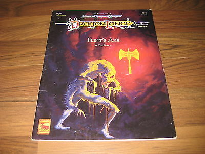 AD&D 2nd Edition Dragonlance DLQ2 Flint's Axe Official Game Adventure TSR 9382
