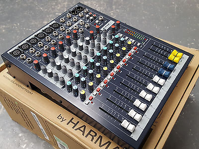 Soundcraft EPM6 analog audio mixing desk console mixer...2 hours use only!