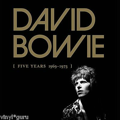 David Bowie Five Years 1969-1973 Complete Studio Vinyl Boxed Set