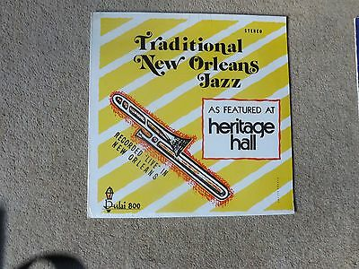 Traditional New Orleans Jazz Lp - As Featured At Heritage Hall - Sealed