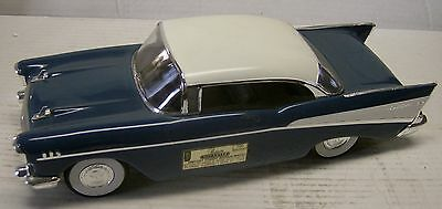1957 Dark Harbor Blue Chevy BelAir Hardtop Decanter made by Regal China