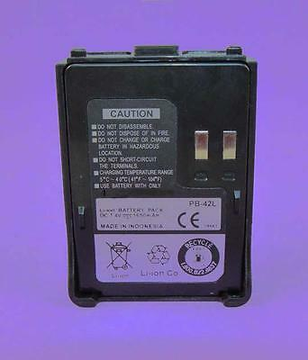 PB-42L Lithium-Ion Battery Pack for Kenwood Radio TH-F7 TH-F7A TH-F7E TH-FTE