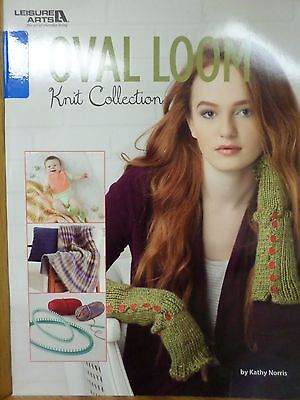 OVAL LOOM KNIT COLLECTION SOFTCOVER BOOK, From Leisure Arts NEW
