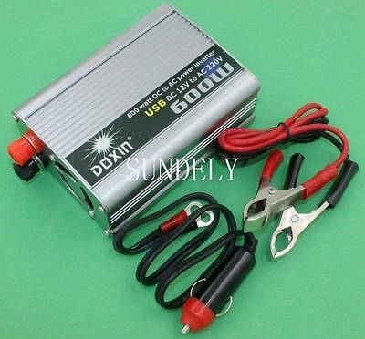 300 Watt Modified Sine Wave Mains Power Inverter 12V to 240V 300W New