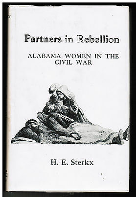 Confederate Alabama Women Civil War Nurses Book VG+