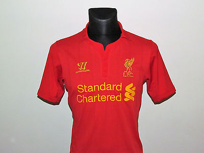 Warrior Jersey Liverpool Home Shirt 2012-13 Size S