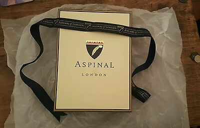 Aspinal Gift Box with tissue paper and ribbon