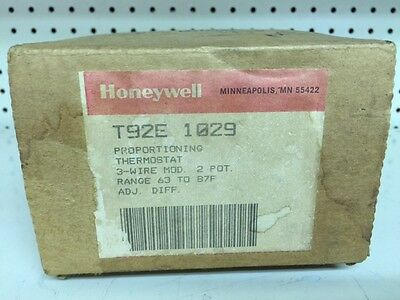 New,  Honeywell P/n T92E 1029  Proportioning Thermostat