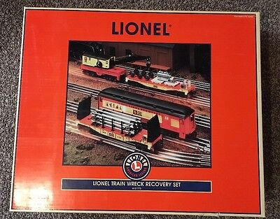 Lionel Train Wreck Recovery Set 6-21775