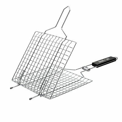 JRui Outdoor BBQ Tool Handy Utensil For Cooking,Barbecue Grilling Basket Roast