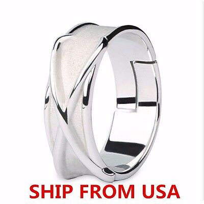Super Dragon Ball Z Black Son Goku Gokou Time 925 Silver Finger Ring【FROM USA】