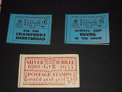 GB-EDWARD 8th / GV-BOOKLETS-EMPTY BUT COMPLETE-297-361-362-VERY SCARCE ITEMS