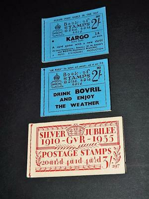 GB-EDWARD 8th / GV-BOOKLETS-EMPTY BUT COMPLETE-297-360-365-VERY SCARCE ITEMS