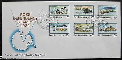 New Zealand 1982: Ross Dependency FDC