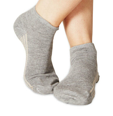 Jane women's super-soft bamboo ankle socks in grey | By Braintree