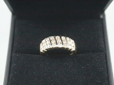 14K Diamond Ring (Yellow Gold) Appraised at $2600