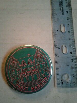 Pabst mansion collector pin wisconsin