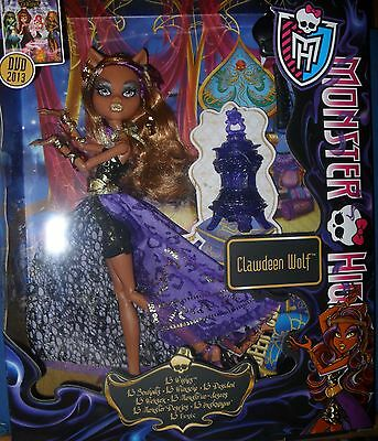Monster High Doll Clawdeen Wolf 13 deseos - wishes