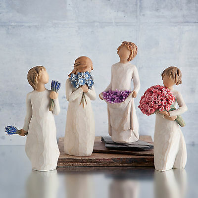 Willow Tree Figurines Figures Ornaments - Love, Friendship, Caring, Healing