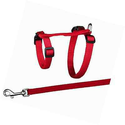 Trixie 41960 Cat Set of Harness and Lead for Large Cats Nylon 34 - 57 cm / 13 mm