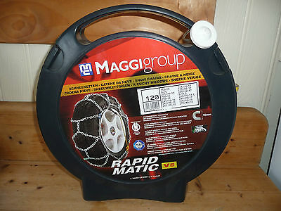 Maggi - Snow Chains Line Suv-4X4 Group 120 For Wheels With R15, R16, R17 R19