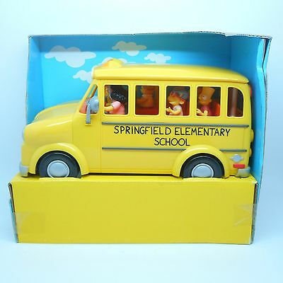 Playmates The Simpsons Interactive Environment Talking Elementary School Bus
