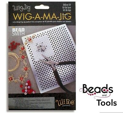 Beadalon DELUXE Thing-a-Ma-Jig Beading Wire Design Kit Beads Wire Forming Jig